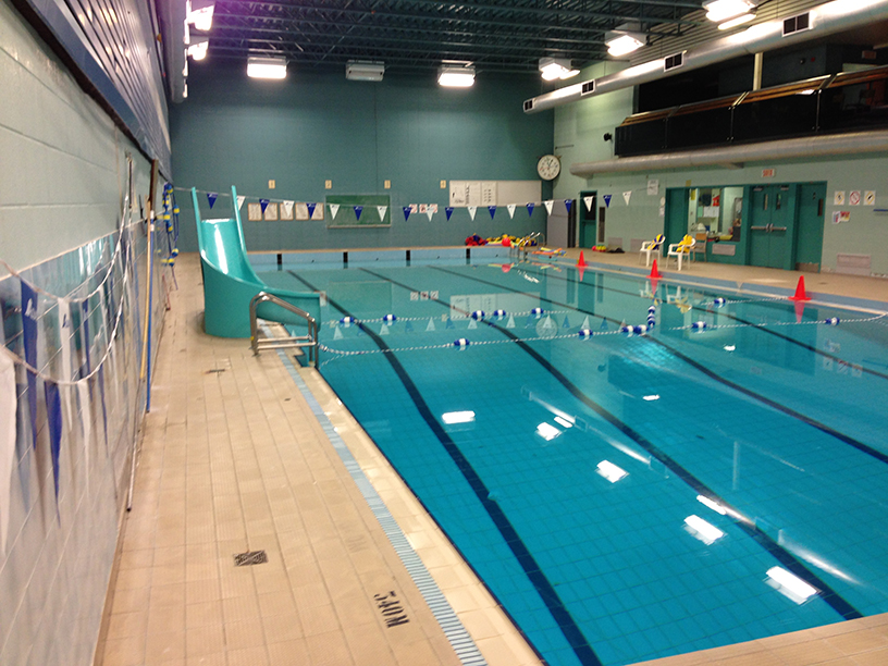 Centre de formation professionnelle bel avenir piscine for Centre sportif cote des neiges piscine